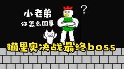奇葩游戏猫里奥最终关:我和boss谈笑风生