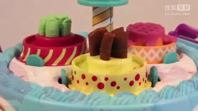 创意diy橡皮泥彩泥粘土手工制作生日蛋糕-母婴-早教-全球精选热门.