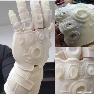 3D无限也太a手套了灭霸的打印手套都不在话下美甲店平面设计图图片