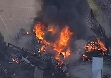 澳飞机坠毁 机上人员全部遇难