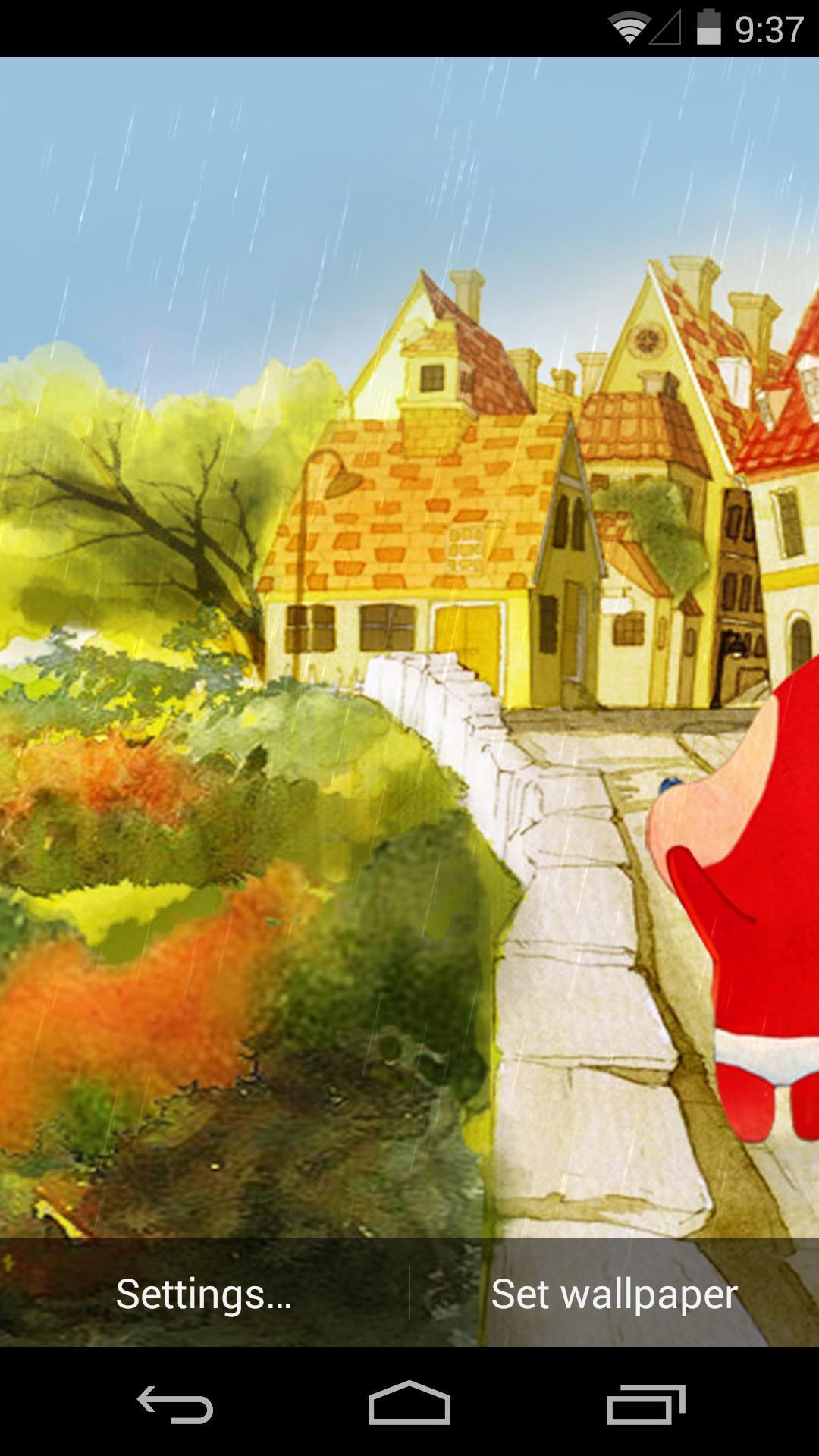 《 阿狸之预约秋天-梦象动态壁纸 》截图欣赏