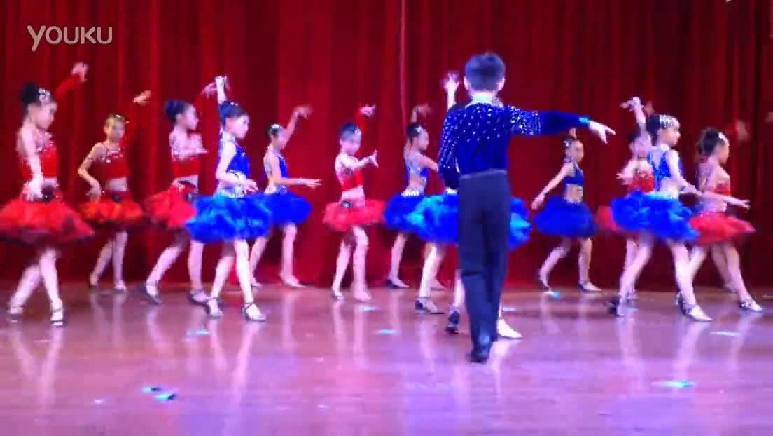 在线观看 少儿拉丁舞表演-原创图片