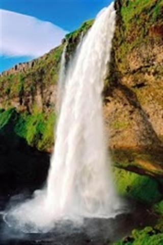 壁纸 风景 旅游 瀑布 山水 摄影 桌面 320_480 竖版 竖屏 手机