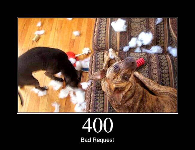 400 Bad Request