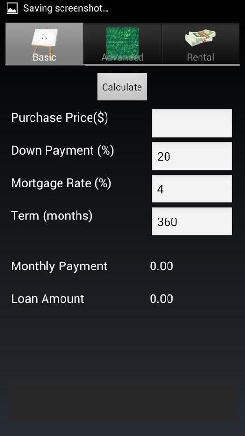 loan and rental calculator