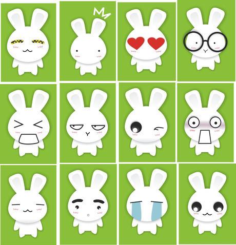 求几张可爱又萌的动漫兔子图片~~