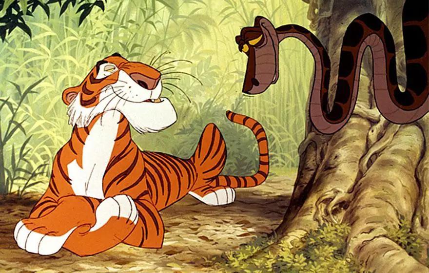 迪士尼动画中的动物拟人化以后竟然是这个样子!最后!