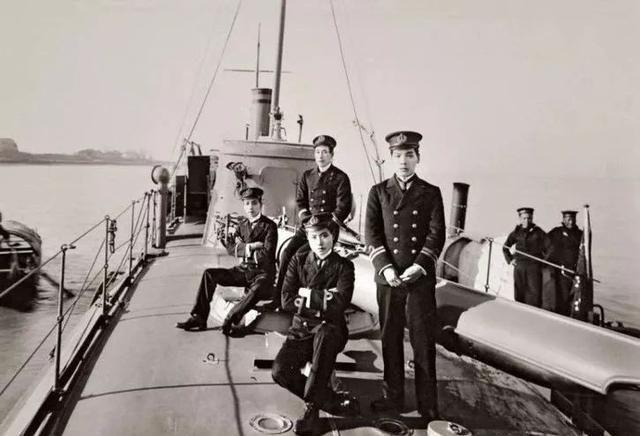 1911年,北洋水师全军覆没后,清朝海军首次出访八国的扬威之旅