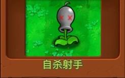 新 植 物 : 自 杀 射 手