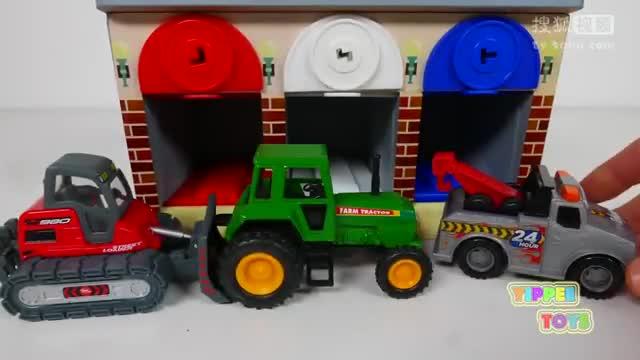 彩泥粘土手工制作小动物小汽车