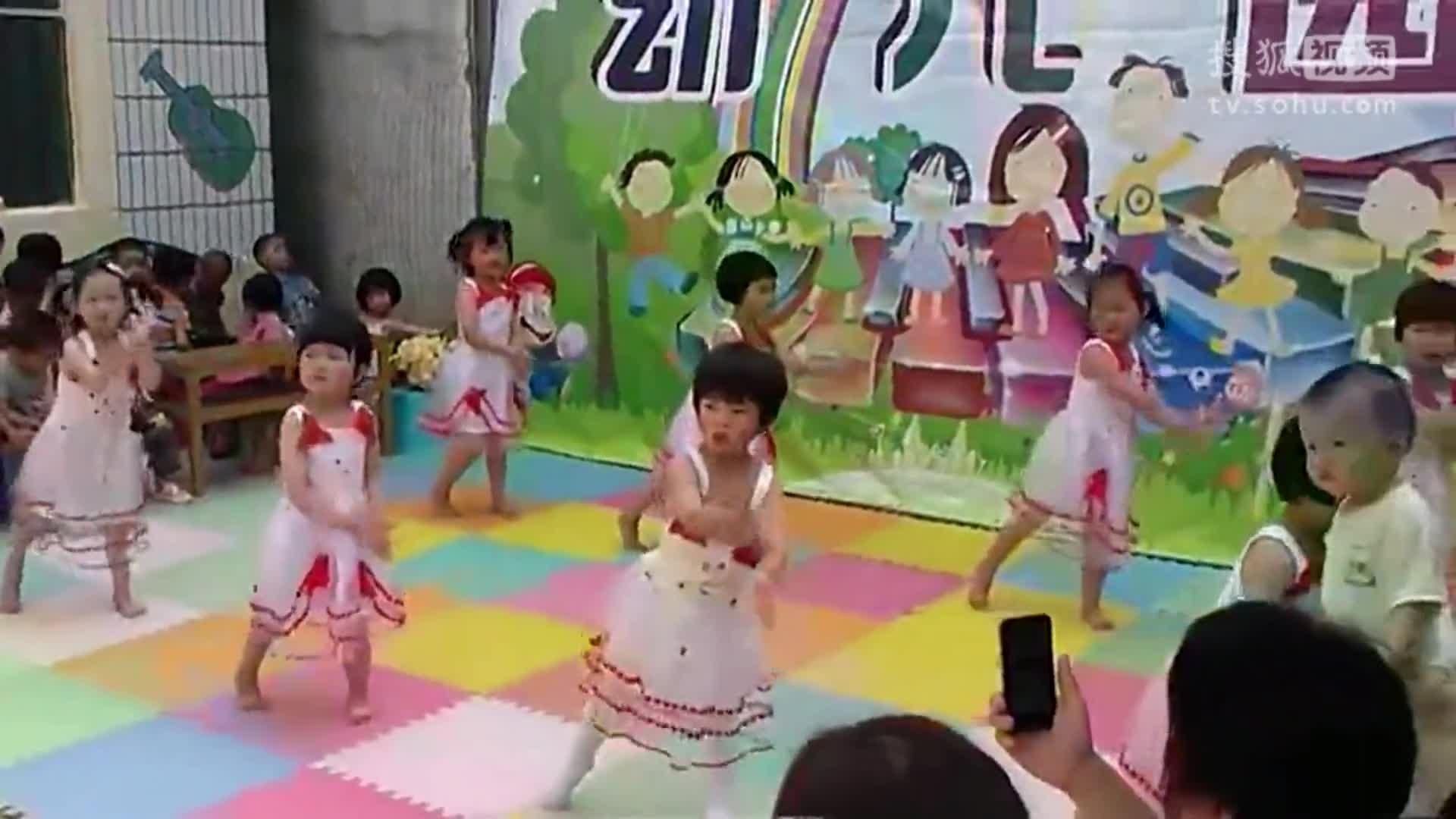 儿童舞蹈 幼儿园中班《日不落》幼儿舞蹈教学视频