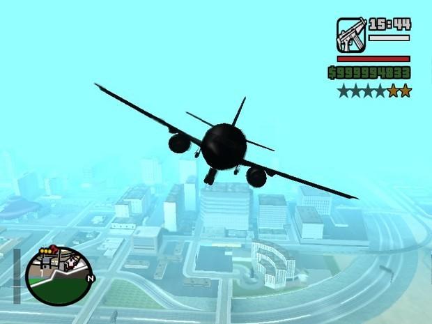 侠盗猎车手圣安地列斯有没有大客机或运输机的秘籍
