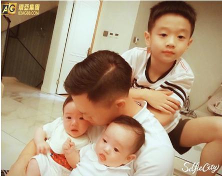 杨威双胞胎女儿庆生_AG环亚集团细数娱乐圈喜事