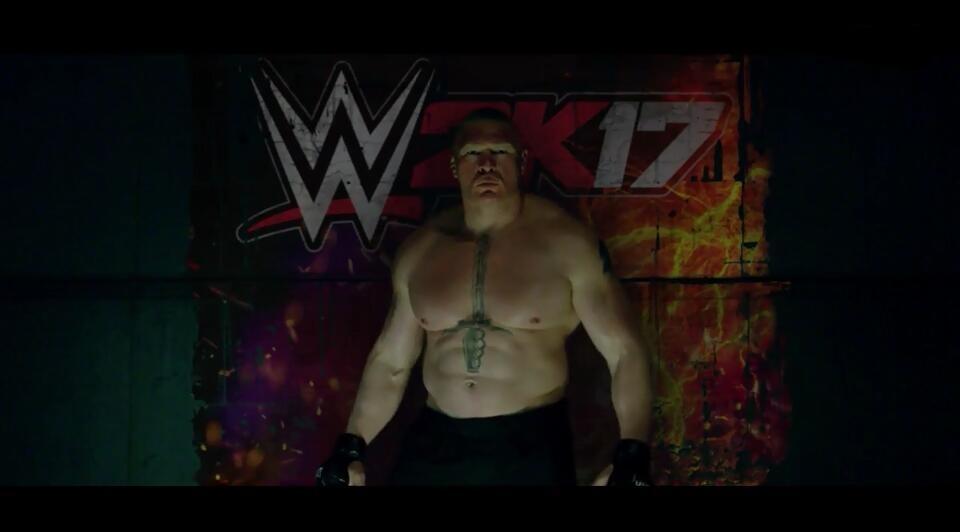 《WWE 2K17》发行日