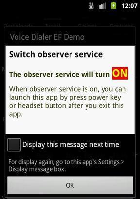 《 Voice Dialer EF Demo 》截图欣赏