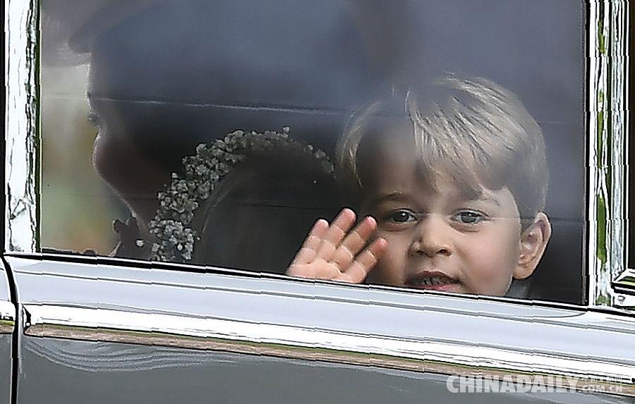 英国凯特王妃妹妹举办盛大婚礼 小王子兄妹当花童很抢镜 -  - 真光 的博客