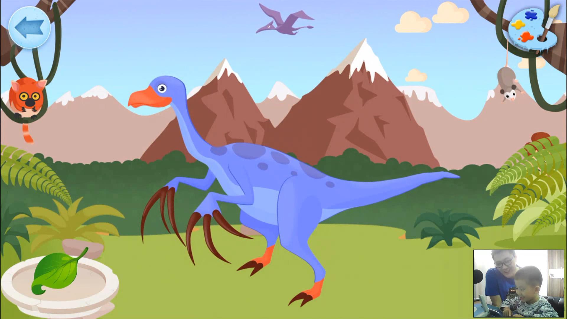 恐龙游戏 第8期:恐龙化石 恐龙玩具儿童游戏 亲子游戏 侏罗纪世界