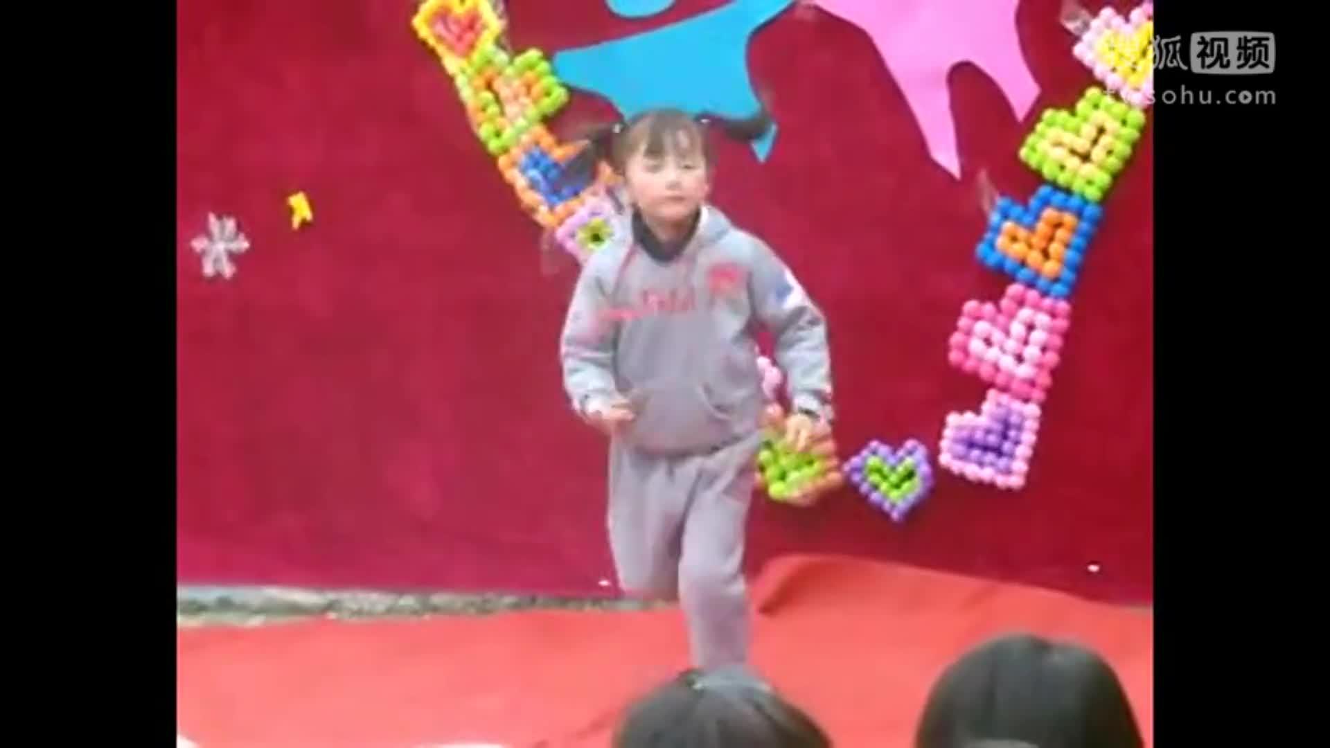 幸福的脸幼儿舞蹈视频 元旦节最新幼儿舞蹈《幸福的脸》-全球无敌.