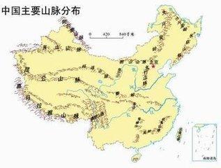 中国地形区分布图 中国地形 中国地形高清版大图