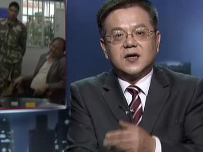 """传奇故事 20140619期 """"联合国官员""""岳阳监狱提人 维和部队""""工作证"""".图片"""