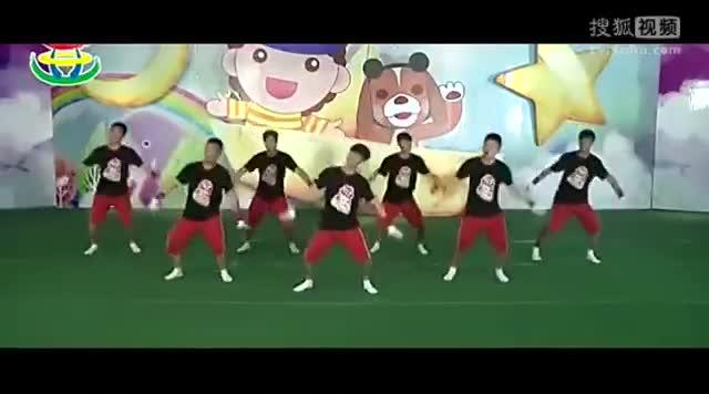 儿童舞蹈教学视频大全《战豆》林老师幼儿舞蹈视频-跳舞视频,舞.