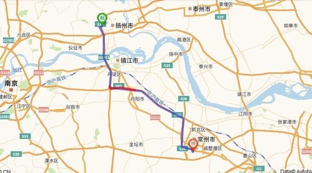 扬州火车站距常州淹城多少公里