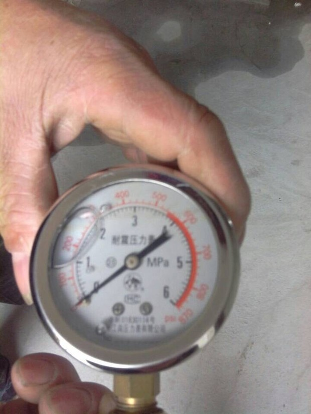 这个耐震压力表怎么读数?(消防试压用)