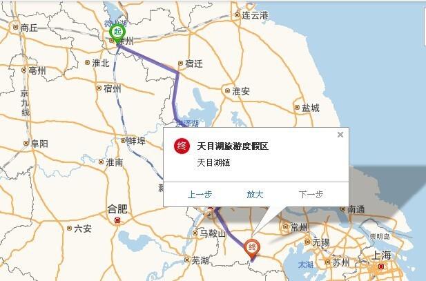 徐州自驾去常州溧阳天目湖需要多长时间