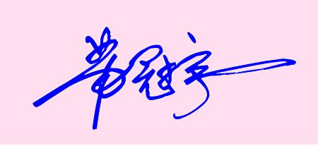 签名设计,商务签