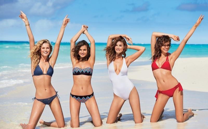 众超模沙滩拍比基尼大片 酥胸美腿好不养眼! - 真光 - 真光 的博客