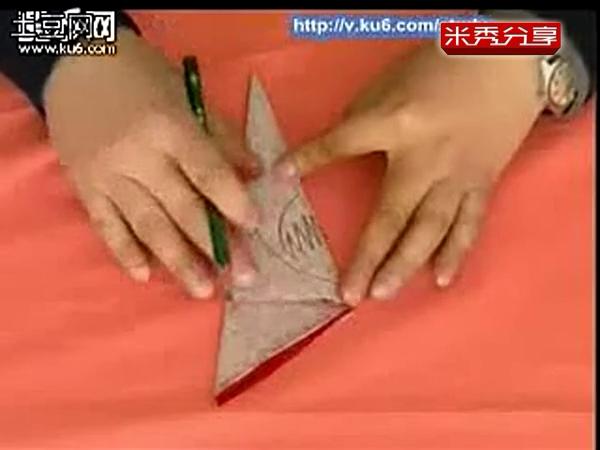 学剪纸3-3教你剪八折团花教你学剪纸