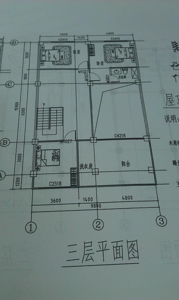 农村房子设计图经济兄弟房展示图片