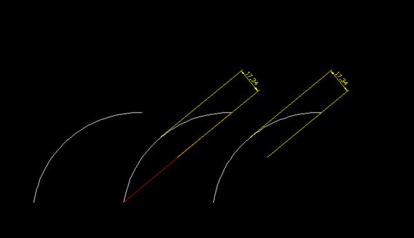 CAD多个周长标注?_360v多个cad图形总的圆弧查高度图片