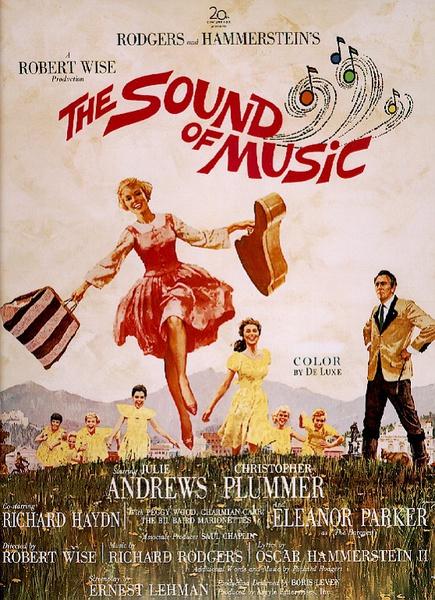 《音乐之声》海报