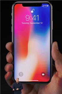 苹果最新iPhoneX实机图片...