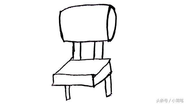 家具 简笔画 手绘 线稿 椅 椅子 640_360