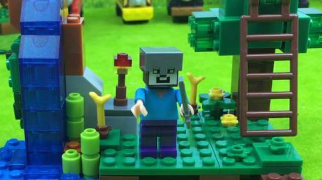哆啦盒子玩具时间:我的世界梦幻庄园积木玩具 乐高积木益智玩具