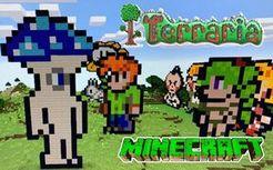 TerraCraft 我的世界+泰拉瑞亚 国产同人游戏