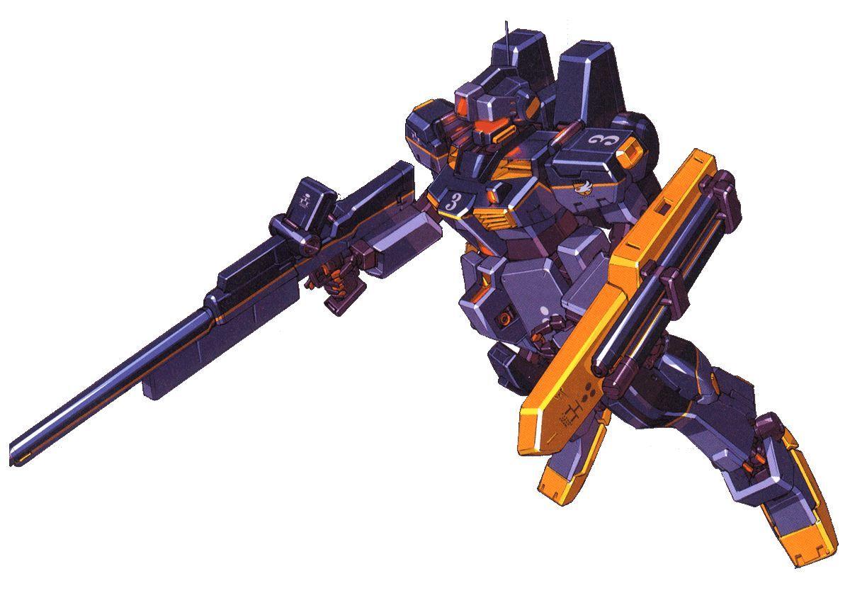 RGM-79SR狙击型吉姆Ⅲ高机动型