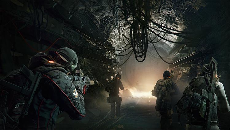 《全境封锁:地下》武器装备