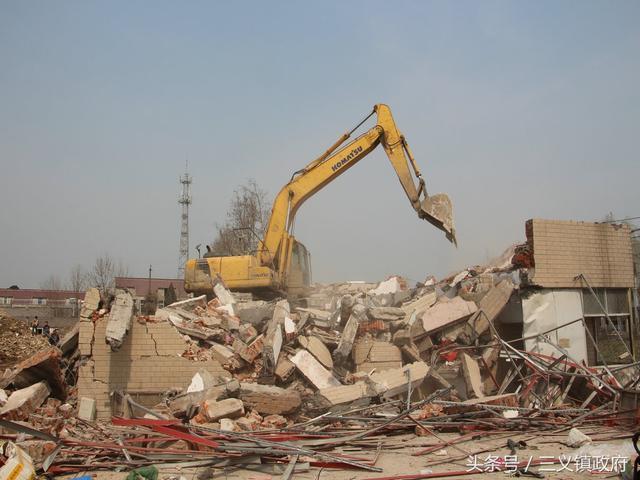 三义镇美丽集镇建设一期工程启动