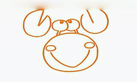小蝌蚪找螃蟹简笔画内容图片展示