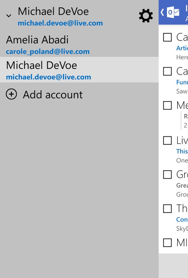 Outlook邮箱截图3
