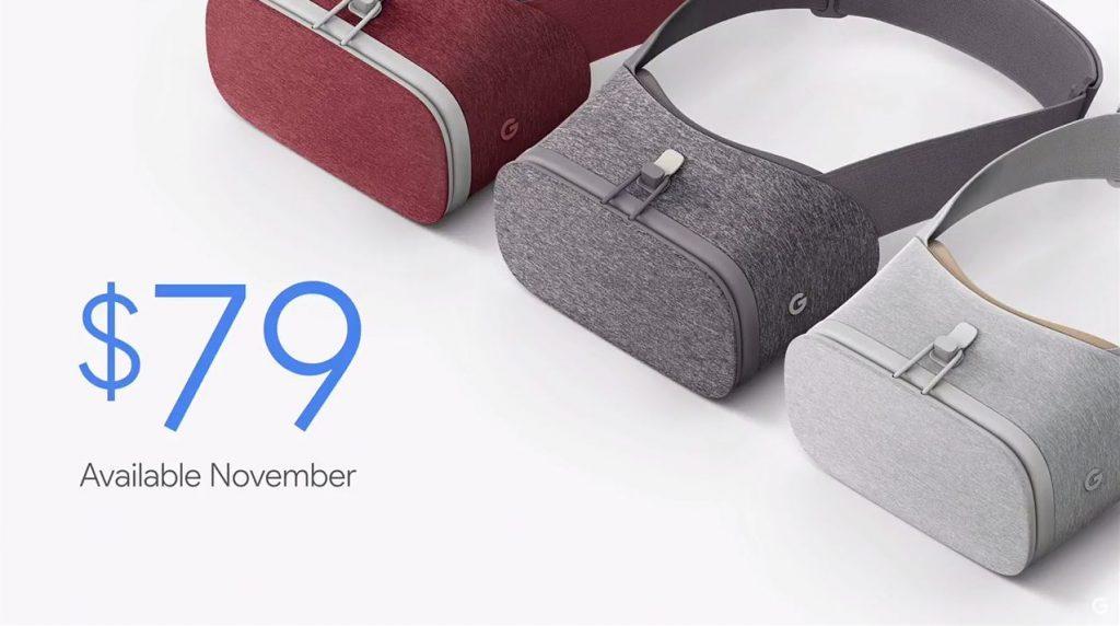 谷歌Daydream View将发货