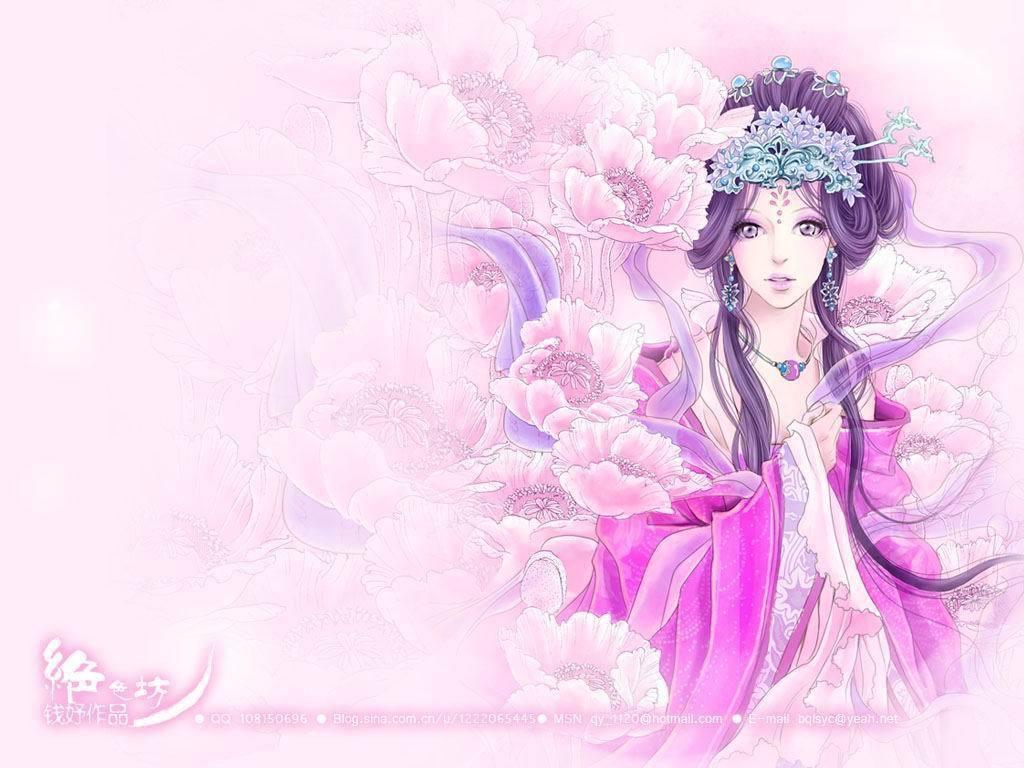 皇后卡通服饰花纹