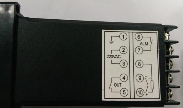 rex-c100温控接固态继电器怎么设置参数