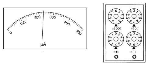 精确地测量某灵敏电流计(微安表)的内电阻,设计了如图甲所示的电路