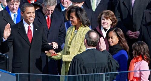 美国总统就职时间北京时间
