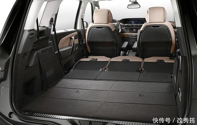 设计超前的雪铁龙C4毕加索,售价21.68万起,MPV还是低调点好