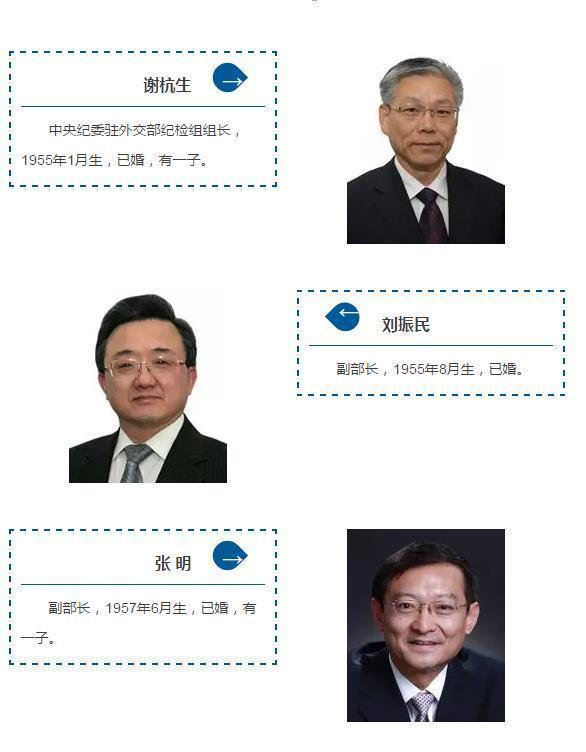 【转】北京时间     外交部12位部领导婚育状况公布:还是生儿子的多 - 妙康居士 - 妙康居士~晴樵雪读的博客